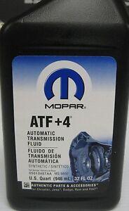Chrysler PT Cruiser Transmission Oil - Servo Atf 4 Mopar Gearbox ATF4 New #