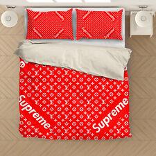 Supreme #2 Bedding set Zipper Duvet cover Pillow US Twin Full Queen King