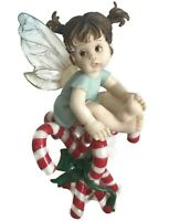 My Little Kitchen Fairies Candy Cane Fairie Fairy 2003 ENESCO 113347 Christmas