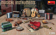 Musical Instruments (Buildings and Accessories) model kit 1/35 MiniArt  35622