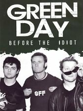 GREEN DAY Before The Idiot DVD in Inglese NEW .cp