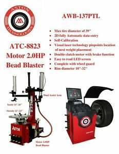 "**2.0 HP** Tire Changer Wheel Changers Machine *Bead Blaster* 16""~28"" ATC-5733"