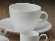 Large Pure White Porcelain Tea Coffee Latte Cappuccino Cups 225 ml