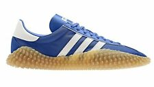 ADIDAS Country x Kamanda Trainers in Blue & White, gum sole SIZE UK10 US10.5-11