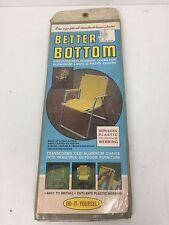 Vintage Beige Better Bottom Aluminum Lawn & Patio Chair Webbing Replacement