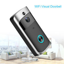 Wireless Intelligent Visual 720P Doorbell Wifi Video Mobile Remote For Office IR