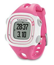 Garmin Forerunner 10 GPS Watch Pink/White *Certified Refurbished W/ Certificate