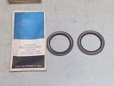 2 GM Chevrolet Front Wheel Seals 3953412 N-94065 CR 19768 Timken 9406S CFW-412