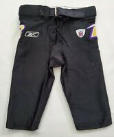 #30 Baltimore Ravens Locker Room Player Issued Football Pants - Size 34 Short