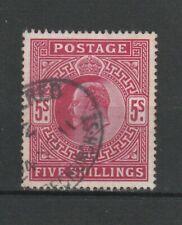 Großbritannien Mi.Nr. 116 A von 1902, gestempelt, König Edward VII