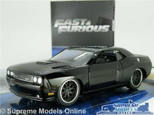FAST & FURIOUS DOM'S DODGE CHALLENGER SRT8 MODEL CAR 1:32 SCALE JADA MUSCLE K8