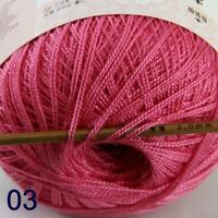 Thread No.8 Cotton Crochet Hand Yarn Craft Tatting Knit Embroidery 50g/400y 03