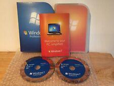 Microsoft Windows 7 Professional Full Retail Version 32 & 64 Bit DVD - FQC-00129
