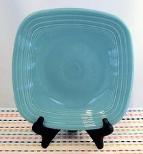 Fiestaware Turquoise Square Lunch Plate Fiesta Blue Luncheon Plate