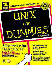 UNIX For Dummies, Young, Margaret Levine,Levine, John R., Very Good Book