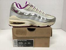"Nike Air Max '95 LE (GS) Girls sneaker #310830 103 sz 4.5y white ""vintage"" 2010"