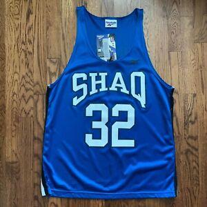 Vintage Reebok Shaq Branded Mesh Jersey 90s NWT O'neal
