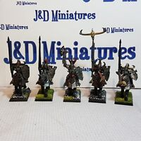 Games Workshop Warhammer Fantasy Battle Warriors of Chaos Knights Painted  Lot D