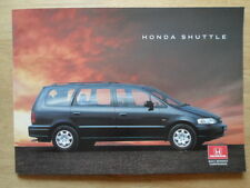 HONDA CIVIC SHUTTLE orig 1995-96 UK Mkt Sales Brochure with 4WD