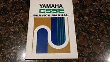 Yamaha CS5E Service Manual