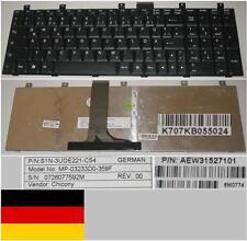 CLAVIER QWERTZ ALLEMAND MSI M670 MP-03233D0-359F S1N-3UDE221-C54 AEW3152710 Noir