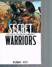 Secret Warriors Vol 4: Last Ride of the Howling Commandos by Hickman 2010 TPB