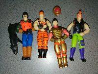 GI Joe 1992 mutt junkyard zartan barricade night creeper leader original bands