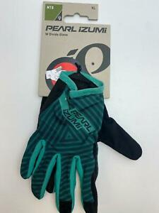 new Pearl Izumi DIVIDE bicycle Long Finger GLOVES men's Green / Black XL