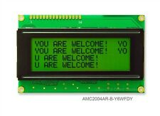 Arduino 4-Line LCD 20x4 Character LCD Module with Green Backlight