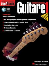 FastTrack Guitar Method Book 1 French Edition - Music Instruction New 000695434