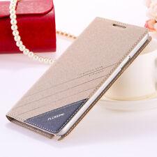 ORO Original Floveme Funda De Cuero De Pu para Samsung Galaxy Note 4