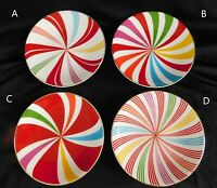 Lenox Peppermint Twist CANAPE SNACK PLATE 1 of 11 available KATE SPADE