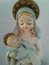 Vintage ~ Josef Originals Japan Mary Jesus Christmas Christian Fiigurine