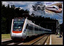 """Hochgeschwindigkeitszug """"Tarpan"""". Maximumkarte. Ukraine 2017"""