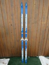 """New listing Vintage Hickory Wooden 73"""" Skis Signed Clement Great for Decoration"""