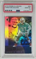 Christian Wilkins 2019 Illusions Rookie Card #66 PSA 10 PSA POP only 1!