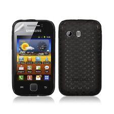 Housse étui coque gel diamant pour Samsung Galaxy Y S5360 couleur noir