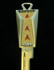 DODGE DART Crest KEY Blank fit 1960-67 Space Age Vintage Pioneer GT Phoenix NOS