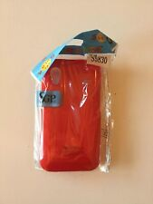 Coque Telephone Samsung Galaxy Ace S5830 Plastique Rouge Red Phone Cover