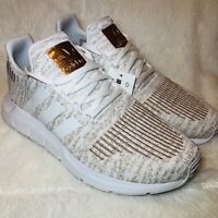 Adidas Originals Swift Run Women's Running Shoes White/Copper Metallic EG7983