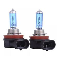 2  H11 55W 6500K 12V Ampoule Lampe Halogene Feu Phare XENON GAZ SUPER WHITE