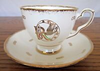 Royal Stafford Rebekah Tea Cup and Saucer Bone China Made in England