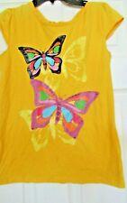 Girls Target Circo XL 14/16 short sleeve top blouse t shirt 100% cotton