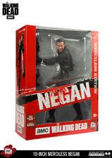 """Walking Dead 10"""" Figura de Edición de Lujo despiadado Negan McFarlane en la acción!"""