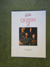 Queen 2 IMP 6 songs for piano vocal guitar including I Want To Break Free