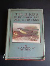 VINTAGE 1940`S THE BIRDS OF THE BRITISH ISLES AND THEIR EGGS T A Coward