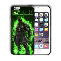 Super Hero Hulk Iphone 5 5s SE 6 6s 7 8 X XS Max XR 11 12 Pro Plus Case Cover n4