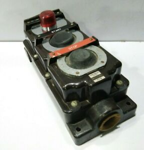 Eaton Cutler-Hammer 10250H1913 Resistente Pulsador Con Luz Roja