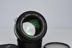 NIKON Ai-s NIKKOR 50mm F/1.4 AIS MF Standard Prime Lens Excellent