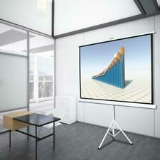 100 Tripod 43 Hd Portable Projector Screen Matte Pull Up With Foldable Stand